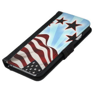 United States flag iPhone 6 Wallet Case