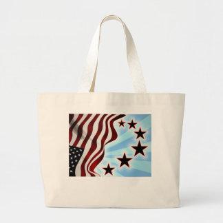 United States flag Jumbo Tote Bag