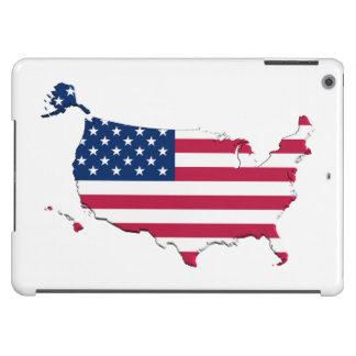 United States Flag-Map iPad Air Case