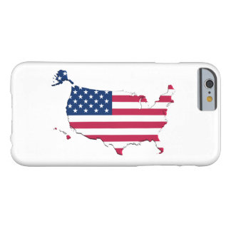 United States Flag-Map iPhone 6 Case