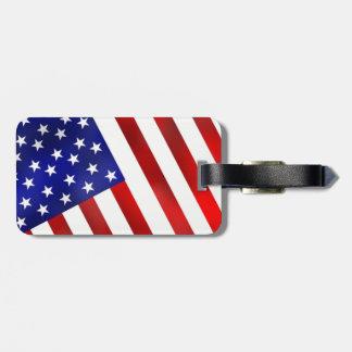 United States Flag / Maryland  Flag Luggage Luggage Tag