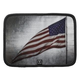 United States Flag Folio Planner