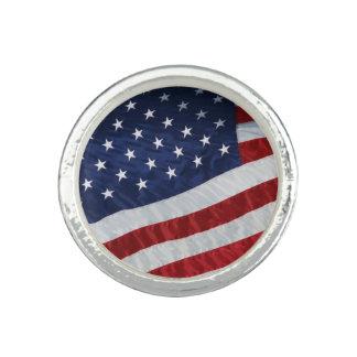 United States Flag Ring