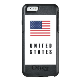 United States Flag Simple Dark OtterBox iPhone 6/6s Case