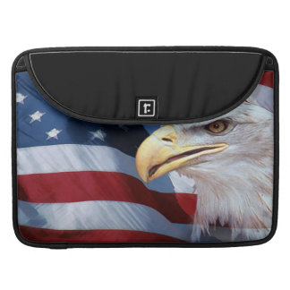 United States Flag Sleeve For MacBook Pro
