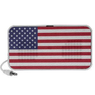 United States flag speakers
