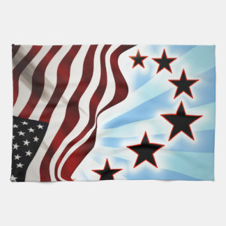 United States flag Tea Towel
