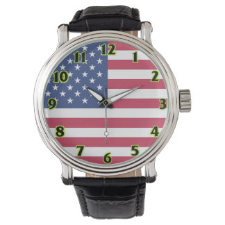 United States Flag Watches