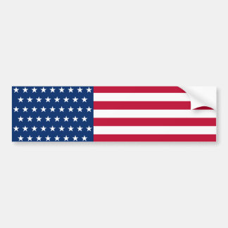 United States Flag with the 51 Stars Car Bumper Sticker