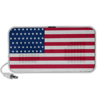 United States Flag with the 51 Stars Speaker System
