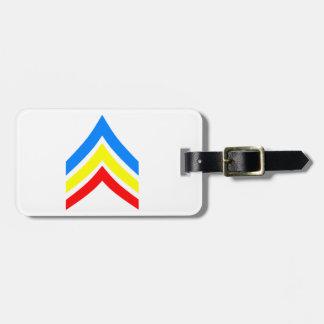United States Gay Sergeant Stripes Luggage Tag