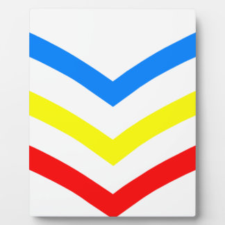 United States Gay Sergeant Stripes Photo Plaques