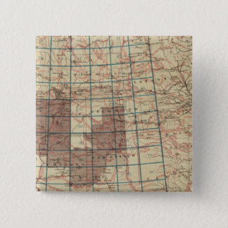 United States Geographical Surveys 15 Cm Square Badge