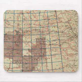 United States Geographical Surveys Mouse Mat