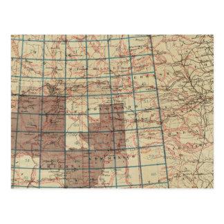 United States Geographical Surveys Postcard