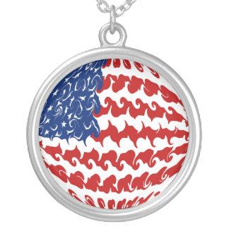 United States Gnarly Flag Pendants