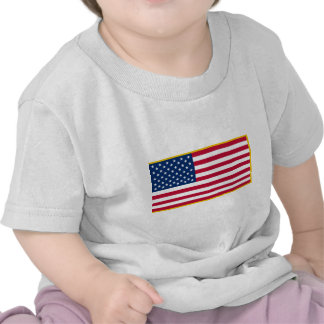 United States Gold Fringed Admiralty Maritime Flag T-shirt