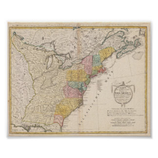 United States Guessefeld F L 1784 Reproduction Poster