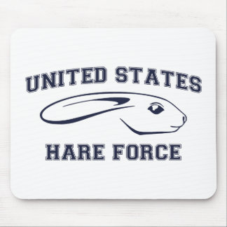 United States Hare Air Force Bunny Mouse Pad