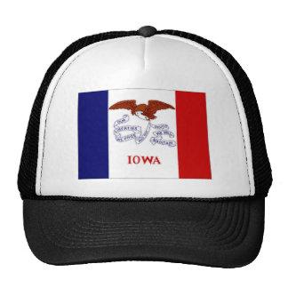 United States Iowa Flag Hats