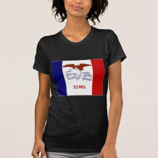 United States Iowa Flag T-Shirt