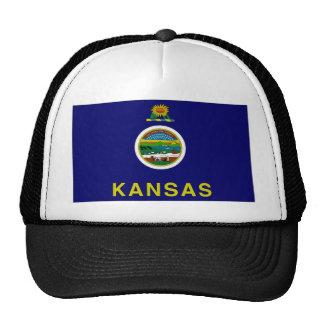 United States Kansas Flag Hat