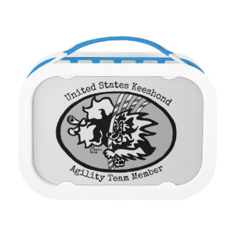 United States Keeshond Agility Team lunch box