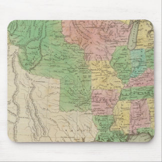 United States Map 2 Mouse Mat