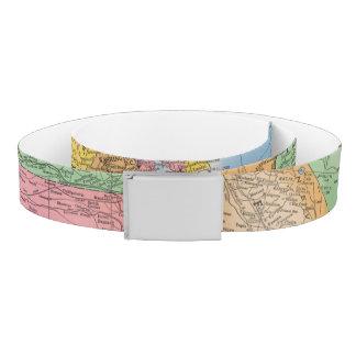 United States Map 3 Belt