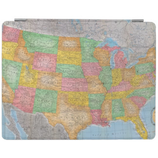 United States Map 3 iPad Cover