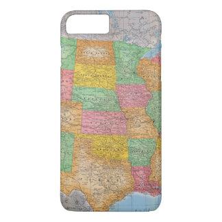 United States Map 3 iPhone 8 Plus/7 Plus Case