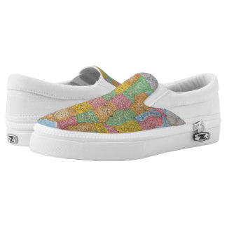 United States Map 3 Printed Shoes