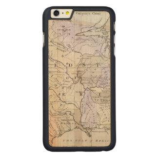 UNITED STATES MAP, c1812 Carved Maple iPhone 6 Plus Case