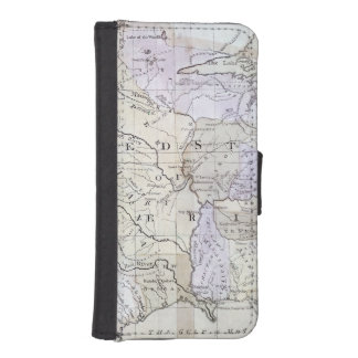 UNITED STATES MAP, c1812 iPhone SE/5/5s Wallet Case