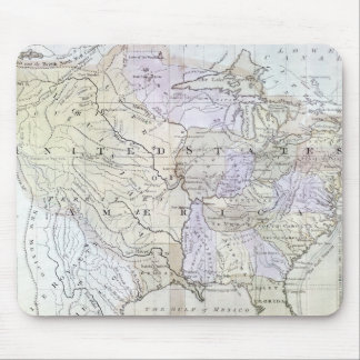 UNITED STATES MAP, c1812 Mouse Mat