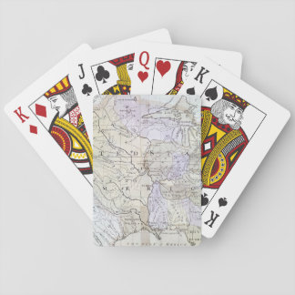 UNITED STATES MAP, c1812 Playing Cards