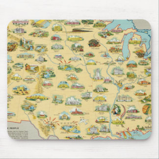 United States Map Mouse Pad