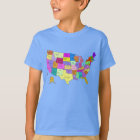 United States Map T-Shirt