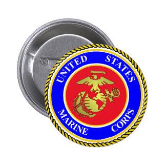 United States Marine Corps 6 Cm Round Badge
