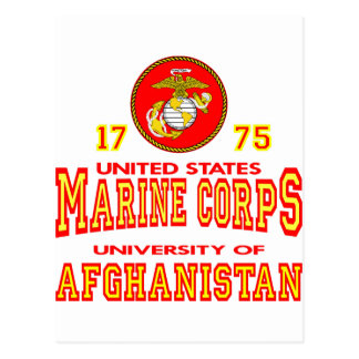 United States Marine Corps University Afghanistan Postcard