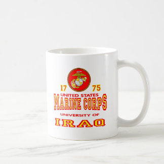 United States Marine Corps University Of Iraq Coffee Mug