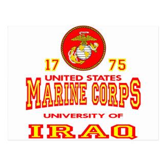 United States Marine Corps University Of Iraq Postcard