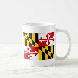 United States Maryland Flag Coffee Mug