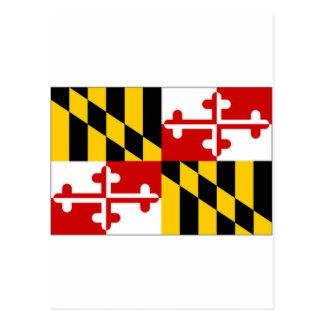 United States Maryland Flag Post Card