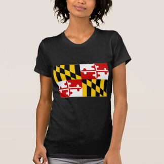 United States Maryland Flag T-Shirt