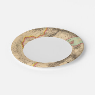 United States Mid west 41 7 Inch Paper Plate