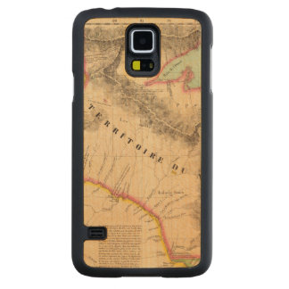 United States Mid west 41 Carved Maple Galaxy S5 Case