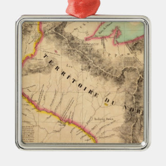 United States Mid west 41 Christmas Ornament
