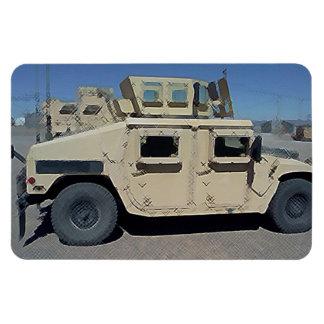 UNITED STATES MILITARY ARMOR RECTANGULAR PHOTO MAGNET