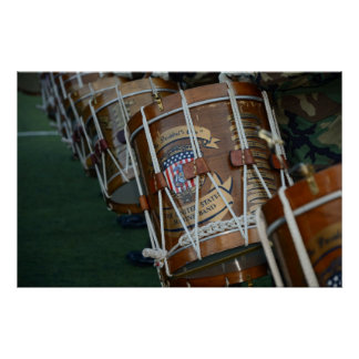 United States Military Drum Line Posters
